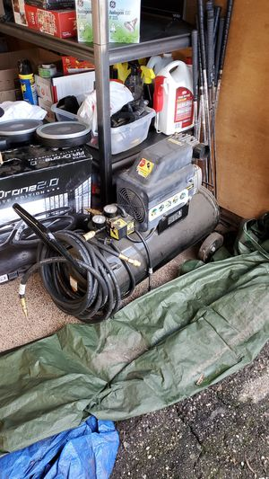 Central pneumatic compressor for Sale in Modesto, CA