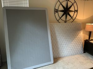 Full Size Mattress and Box Spring for Sale in Raleigh, NC