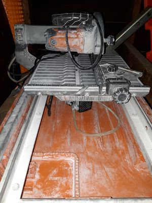 Tile saw 7 for Sale in San Jose, CA
