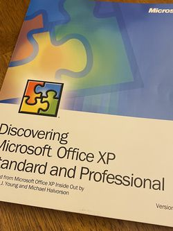 Microsoft Office XP Standard & Professional for Sale in Auburn,  WA