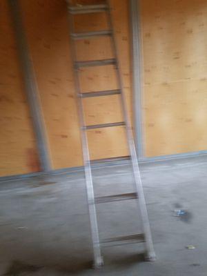 """Keller 16"""" extended aluminum ladder for Sale in Layton, UT"""