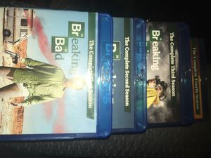 Breaking Bad Blu-Rays Seasons 1-4 for Sale in Knoxville, TN