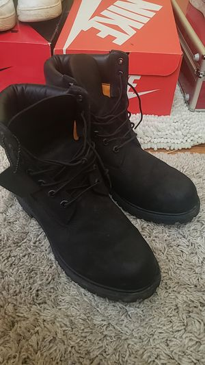 Men's timberland waterproof Boots Black 10073  for Sale in Annandale, VA