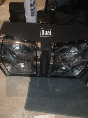 Dual subwoofer for Sale in Tinton Falls, NJ