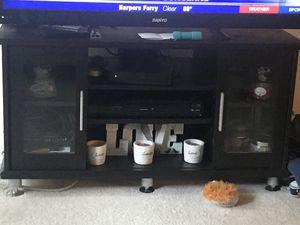 Black TV Stand for Sale in Falls Church, VA