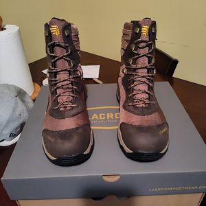 """Lacrosse 8"""" Windrose Brown Boots 11.5 for Sale in Houston, TX"""