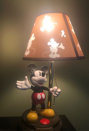 Vintage Mickey Mouse lamp for Sale in St. Petersburg, FL