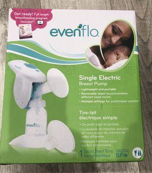 Evenflo Single Breast Pump for Sale in Sandy, UT