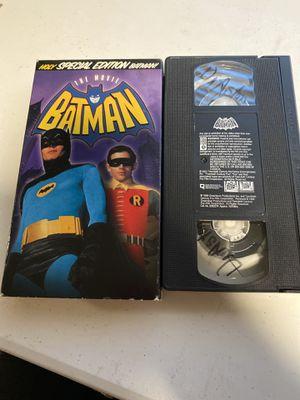 Batman vhs for Sale in Mesquite, TX