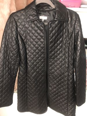 Neiman Marcus original leather coat XS for Sale in The Bronx, NY