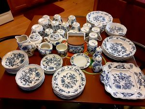Blue Danube (Blue Onion Patterned) China for Sale in Holts Summit, MO