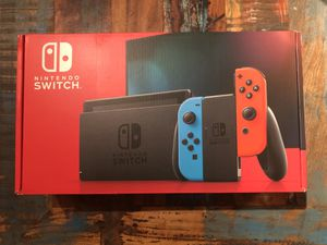 Nintendo Switch v2 with Red/Blue Joy Cons BRAND NEW for Sale in Brooklyn, NY