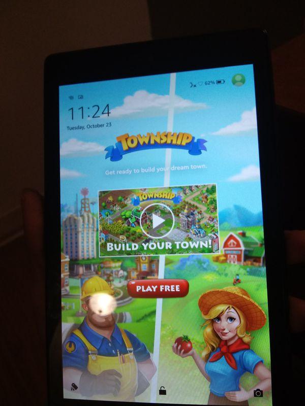 Amazon fire HD 10' tablet