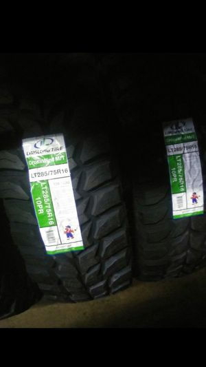 BRAND NEW SET OF TIRES 285 75 16 for Sale in Phoenix, AZ