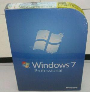 Microsoft Windows 7 Professional 32/64 bit Retail Full Version for Sale in Naperville, IL