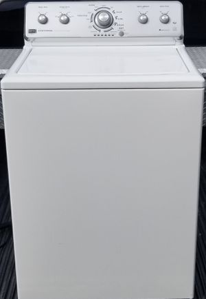 Maytag Centennial Series 27 Inch Top-Load Washer with 3.6 cu. ft. Capacity, 11 Cycles, High-Efficiency, Deep Clean Option, Energy Star Qualified for Sale in Colorado Springs, CO