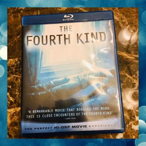 Blu-Ray Dvd The Fourth Kind Movie for Sale in Spring Hill, FL