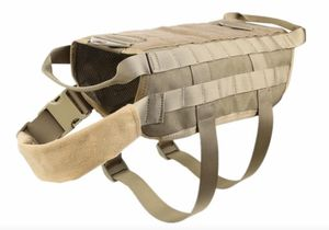 Tactical Dog Vest with MOLLE + 2 Detachable Pouches for Sale in Santa Ana, CA