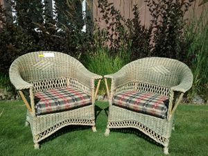 Nantucket Wicker Chairs for Sale in Leavenworth, WA