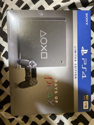 PlayStation 4 Days of Play Edition for Sale in Chicago, IL