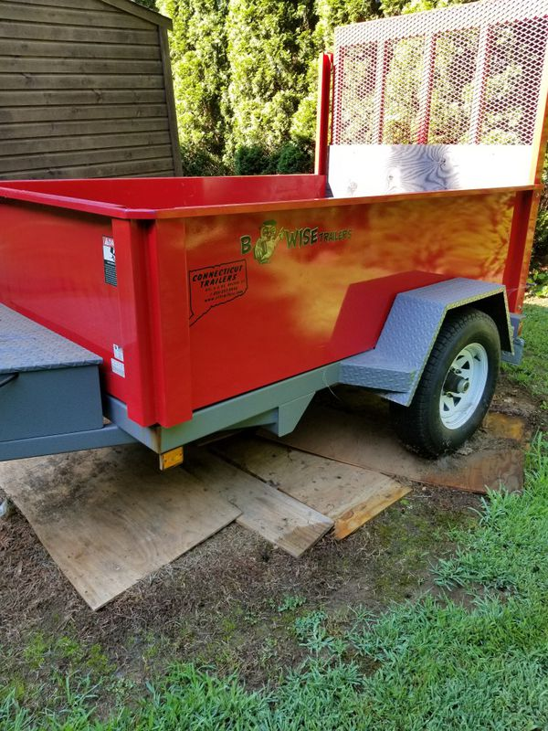 Be wise dump trailer