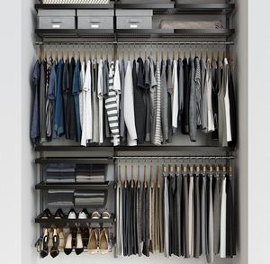 Closet shelving system like new for Sale in Seattle, WA