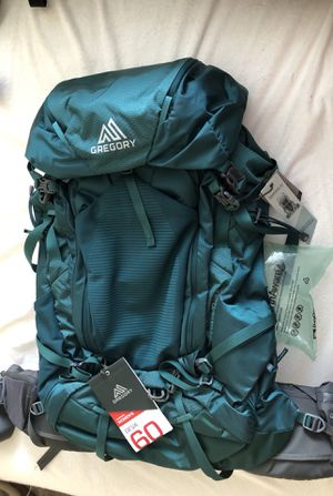 Gregory Deva 60 L backpacking pack for Sale in San Diego, CA