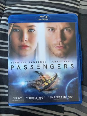 PASSENGERS MOVIE - BLURAY for Sale in Fontana, CA