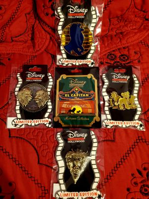 Disney Studio Store Hollywood The Lion King Limited Edition And Surprise 5-Pin Set for Sale in Los Angeles, CA