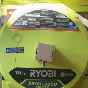 RYOBI 15 in. 3300 PSI Surface Cleaner for Gas Pressure Washer for Sale in Los Angeles, CA