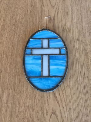 Stained Glass Cross Home Decor for Sale in Glendale, AZ