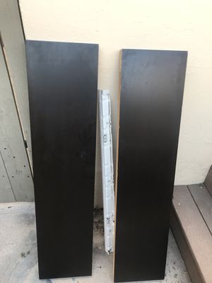 2 IKEA black wall shelves for Sale in San Diego, CA