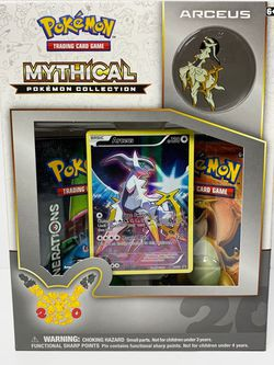 Pokemon TCG Arceus Mythical Collection Box (Generations) SEALED for Sale in Houston,  TX