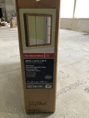 Mirrored Wall Cabinet for Sale in Bowie, MD