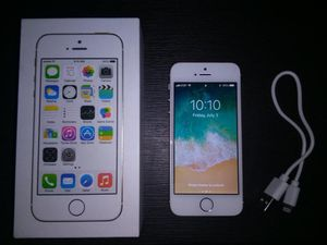 APPLE IPHONE 5S 16GB GOLD UNLOCKED WITH AT&T AND CRICKET WIRELESS for Sale in Fullerton, CA