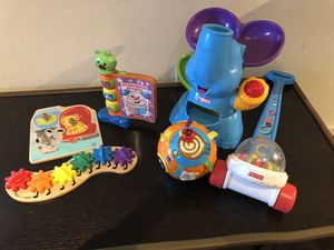 Kids Toys lot from Hape, Fisher price and more 25 all together for Sale in Redmond, WA