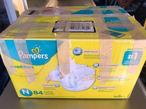 Newborn Pampers Swaddlers for Sale in Wheat Ridge, CO