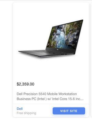 Dell precision 5540 mobile workstation for Sale in El Monte, CA