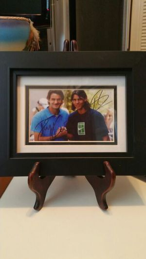 Federer and Nadal's hand signed photo for Sale for sale  Brooklyn, NY