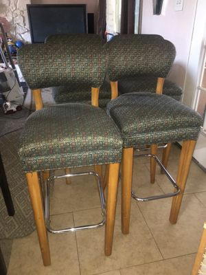 Real Wood Bar Stools for Sale in Riverside, CA