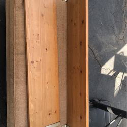 2 Wooden Shelves for Sale in Los Angeles,  CA