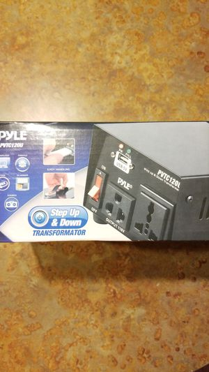 Pyle Step up & down transformer for Sale in Houston, TX