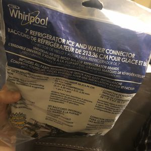 Whirlpool 7' Ice And Water Connector for Sale in Fort Lauderdale, FL