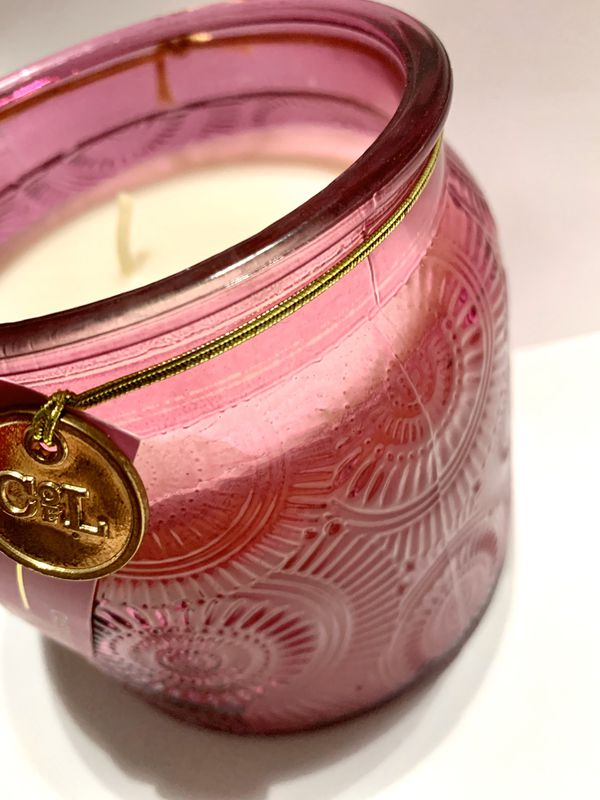 Clintons radiance candle cassis & fig