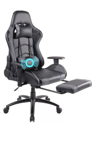 🔥 FREE SHIPPING 🔥 Ergonomic Gaming Computer Chair With Footrest and Massage for Sale in Santa Monica, CA
