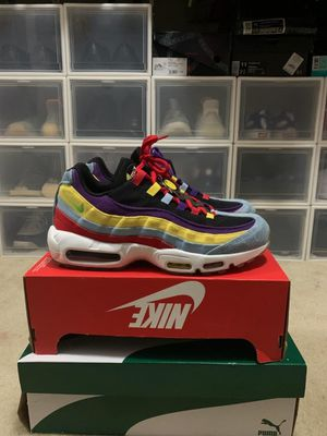 Nike air max 95 mens shoes size 11.5 Worn Twice for Sale in Vallejo, CA