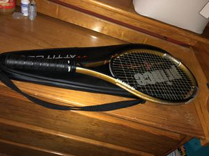 Prince triple threat tennis racket for Sale in Austin, TX