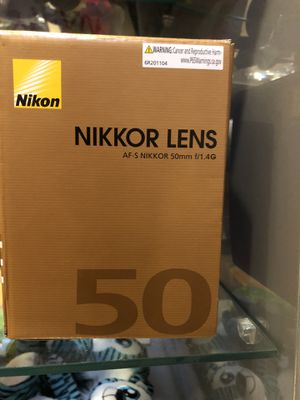 Nikon D5600 And Nikkor Lense 50mm f/1.4G for Sale in New York, NY