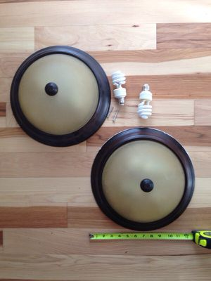 Set of 2 ceiling lamps for Sale in Pittsburgh, PA