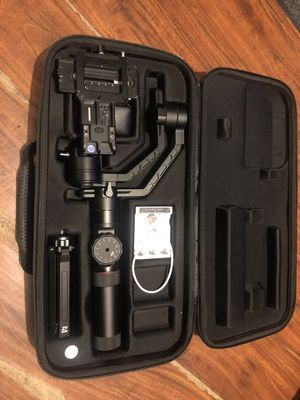 Zhiyun Crane 2 Follow Focus 3-Axis Handheld Gimbal for Sale in Los Angeles, CA